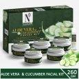 Aloe Vera & Cucumber Facial Kit