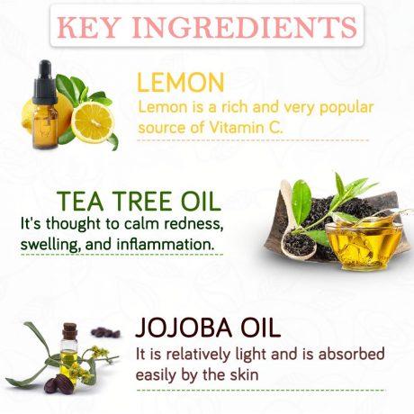 rose toner Key ingredients