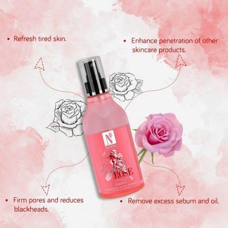 rose toner benefits