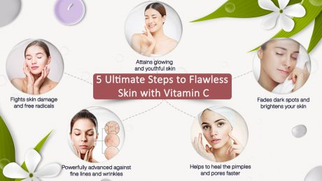 5 Ultimates Steps to flawless Skin with Vitamin C