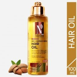 NUTRIGLOW ADVANCED ORGANIC DRY AND DAMAGE REPAIR HAIR OIL