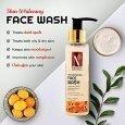 Nutriglow Advanced Organics Skin Whitening Face Wash