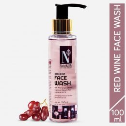 NutriGlow Advanced Organic Red Wine Face Wash