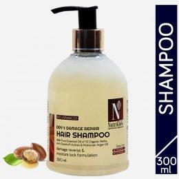 NutriGlow Advanced Organic Dry and Damage Repair Hair Shampoo