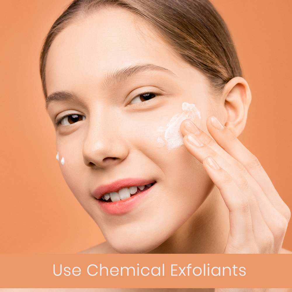 Use-chemical-exfoliants